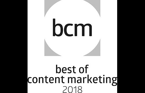 Best of Content Marketing 2018